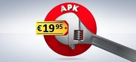 APK altijd vaste lage prijs 19,95 all-in