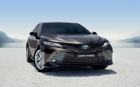 De Toyota Camry komt naar Nederland!