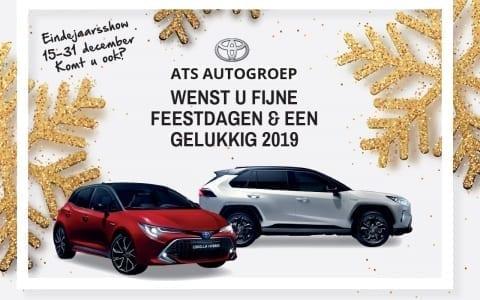 Toyota ATS Eindejaarsshow 15 – 31 december 2018