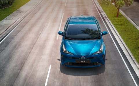 Vernieuwde Toyota Prius
