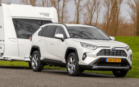 Toyota RAV4 Hybrid perfect voor caravanrijders