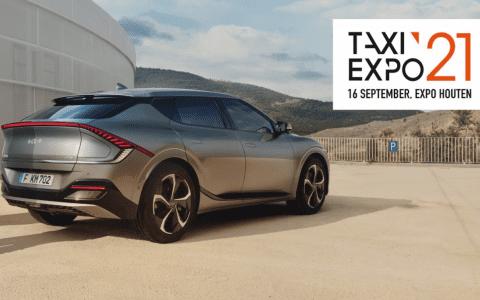 Kia met primeur op Taxi Expo 2021